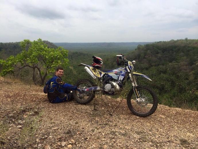 Wesley Macedo motociclista (Foto: Reprodução/Facebook)