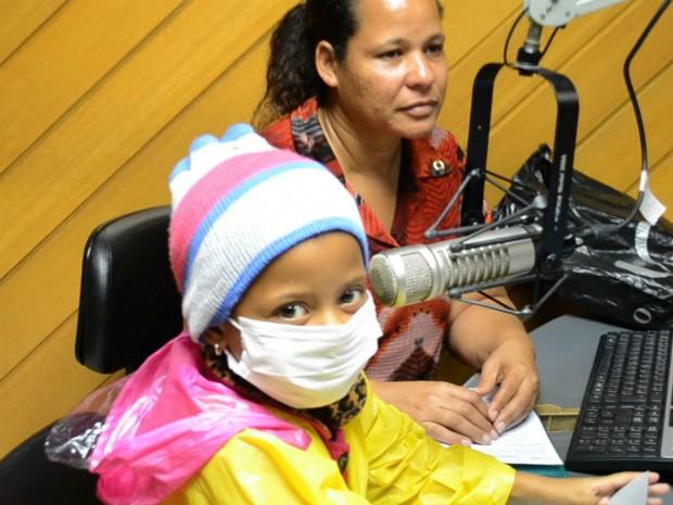 Um dos maiores sonhos de Larissa Oliveira era cantar em uma rádio (Foto: Juliana Borges/G1 ES)