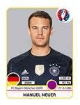 Figurinha Neuer álbum da Euro