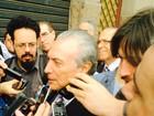 Temer defende diálogo com o Congresso para fazer reforma política (Caetanno Freitas/G1)