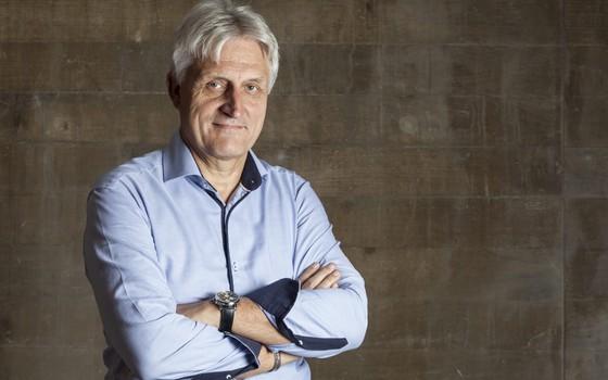 Eddie Hendrickx, ex-vice diretor da polícia belga (Foto: Roberto Setton/ ÉPOCA)