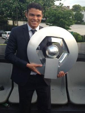 Thiago Silva PSG Campeão (Foto: Arquivo Pessoal)