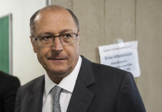 O governador de São Paulo, Geraldo Alckmin (PSDB) (Foto: Marcelo Camargo/Agência Brasil)