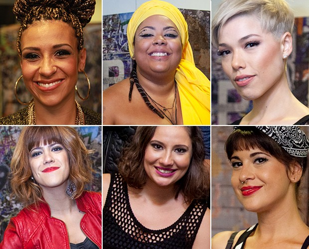 As meninas do SuperStar (Foto: Fabiano Battaglin / Gshow)