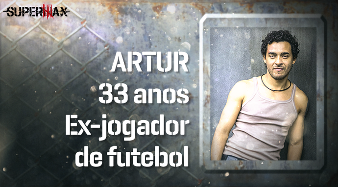 Supermax: perfil do participante Artur (Foto: Gshow)