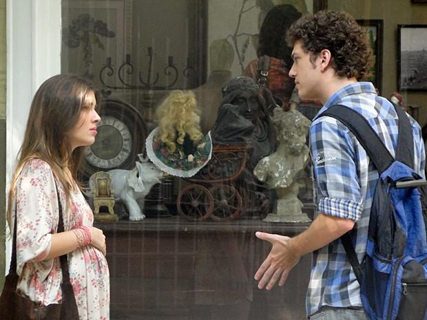 Gabriel acaba com as esperanças de Cristal de se casar com ele  (Foto: Divulgação/TV Globo)