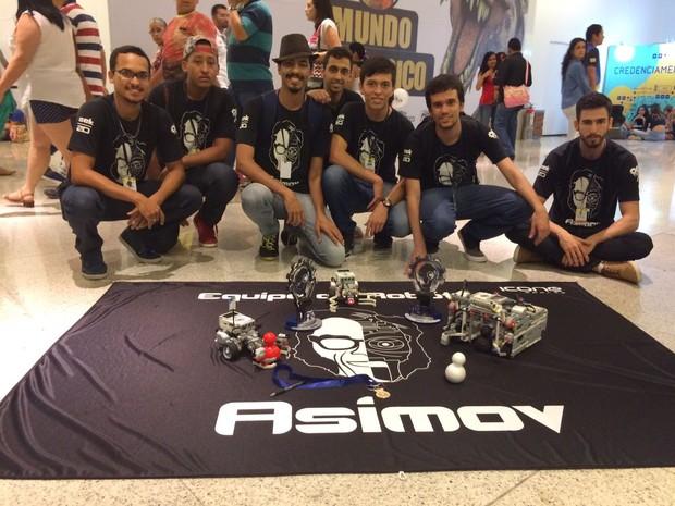Equipe Asimov Futebol 2D (Foto: Divulgação/LARC/CBR 2016)