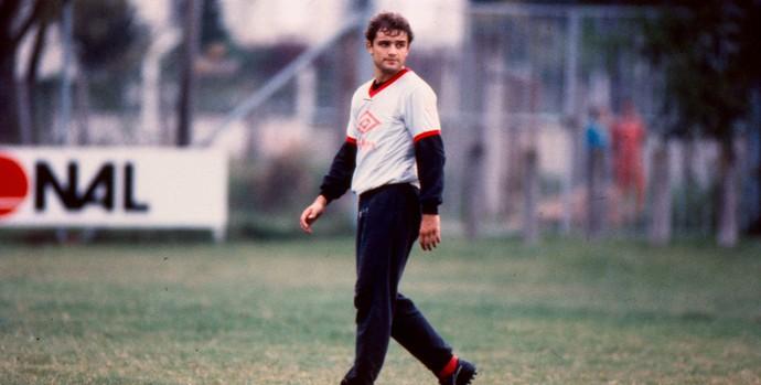 Diego Aguirre como jogador do Inter (Foto: Valdir Friolin/Agência RBS)