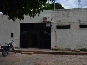 Quatro adolescentes estavam detidos na delegacia de Bom Jesus (Foto: João Vitor/Portal B1)