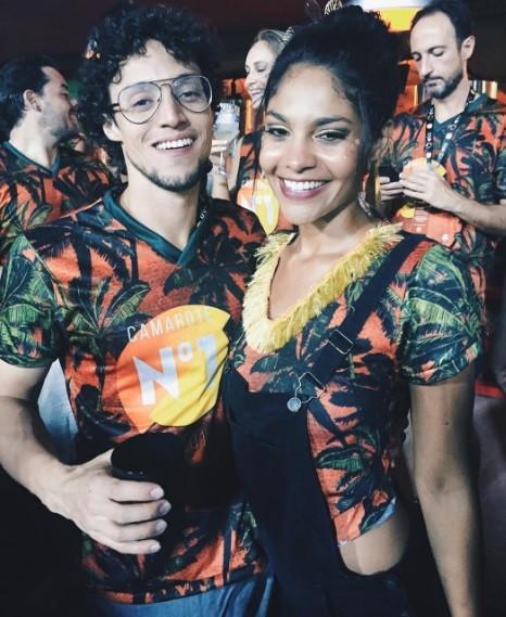 Barbara Reis e o namorado, Diogo Brandão (Foto: Reprodução / Instagram)