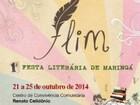 Prefeitura divulga programação da 1ª edição da Festa Literária de Maringá
