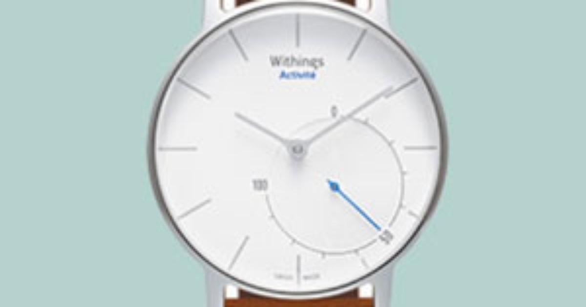 e598e1ba6fd G1 - Startup francesa lança relógio inteligente que une moda e fitness -  notícias em Tecnologia e Games