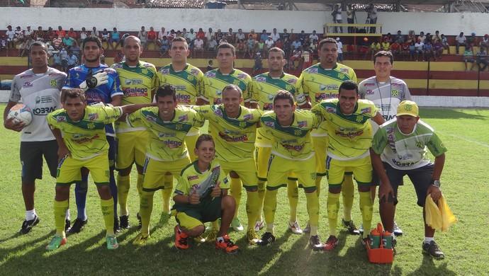 Time do Ipenema, Segunda Divisão do Alagoano (Foto: Leonardo Freire/GloboEsporte.com)