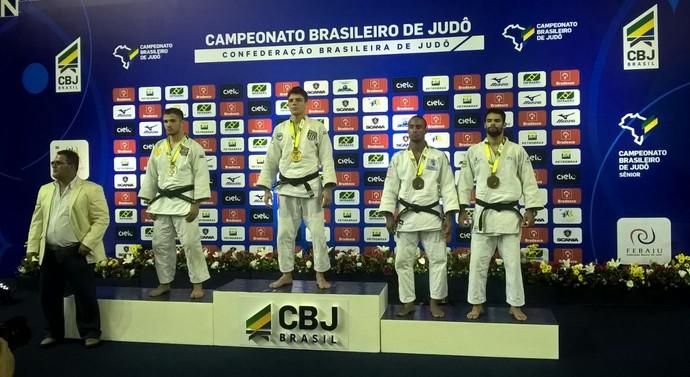 Pódio Stanley Torres campeonato brasileiro sênior 2016 (Foto: Arquivo Pessoal)