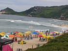 Litoral catarinense mantém 77 praias impróprias para banho, indica Fatma
