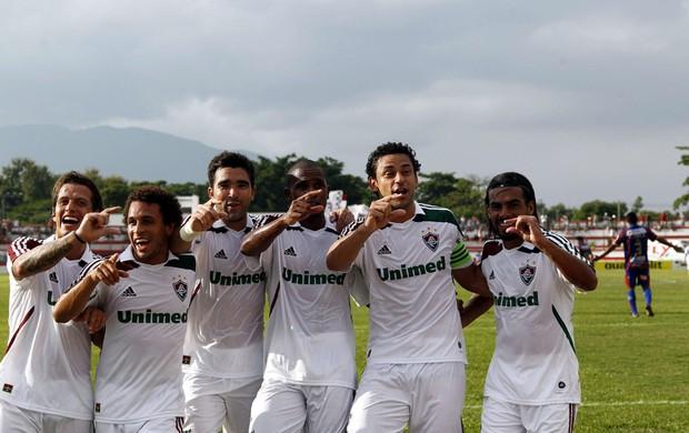 Fred gol Fluminense (Foto: Marcelo Carnaval / O Globo)
