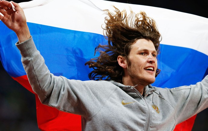 Russo Ivan Ukhov, Londres 2012 (Foto: Getty Images)