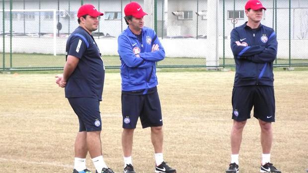 Caio Junior, treino bahia (Foto: Jayme Brandão)