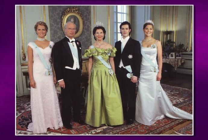 Rainha sueca tem origem são-manuelense (Foto: Reprodução / Revista de Sábado)