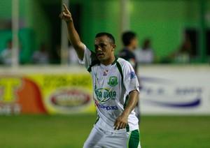 Aleílson, atacante do Paragominas (Foto: Tarso Sarraf/O Liberal)