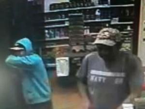 Suspeitso de roubo em Planura (Foto: Polícia Civil/Divulgação)