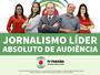 TV Paraíba tem jornalismo líder absoluto de audiência, diz pesquisa