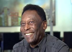 Pelé fala sobre o um ano do gol de Gessé (Foto: Reprodução/TV Tribuna)