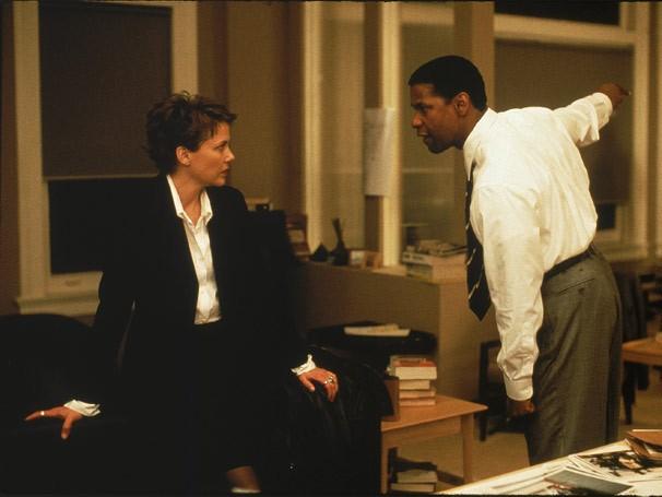 Denzel Washington é o agente especial Anthony Hubbard em 'Nova York Sitiada' (Foto: Divulgação)