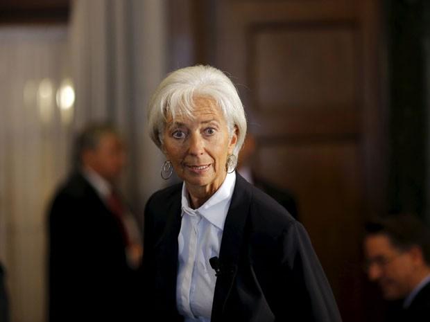 Lagarde participa de encontro do Conselho das Américas em Washington, nesta quarta-feira (30). (Foto: Reuters)