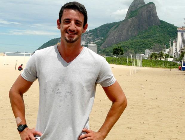 vôlei de praia Pedro Cunha (Foto: Helena Rebello)