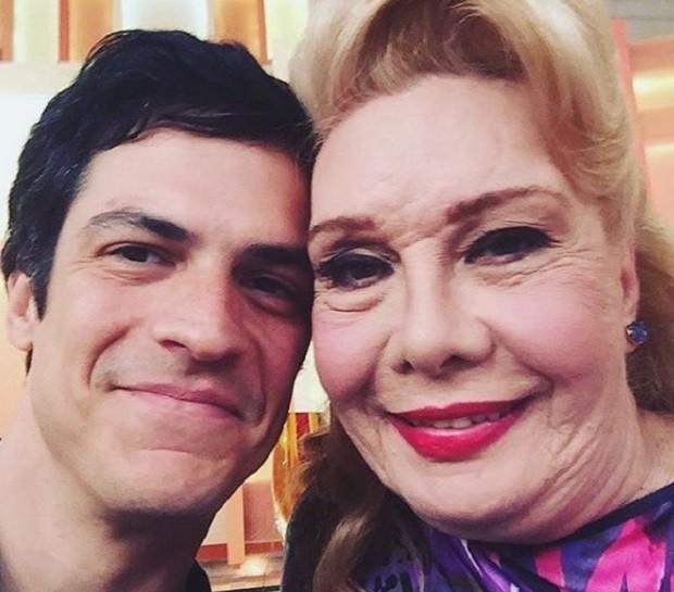 Mateus Solano e Rogeria (Foto: Instagram)