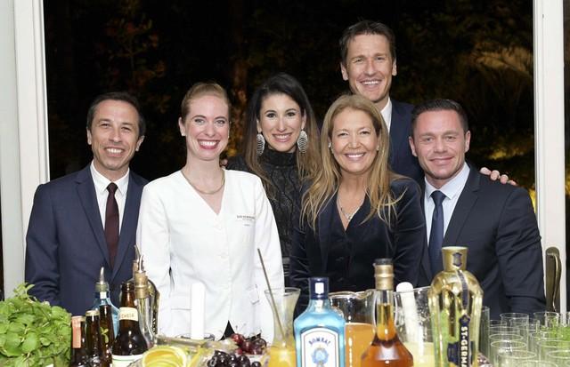 Equipe Ritz Paris e Air France com Donata Meirelles e Nina Kaufmann (Foto: Lu Prezia)