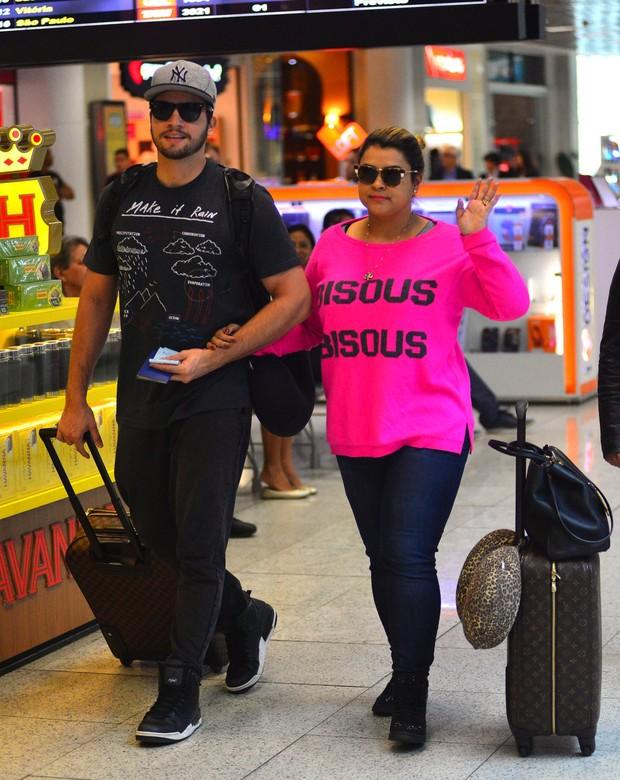 Rodrigo Godoy e Preta Gil (Foto: William Oda / AgNews)