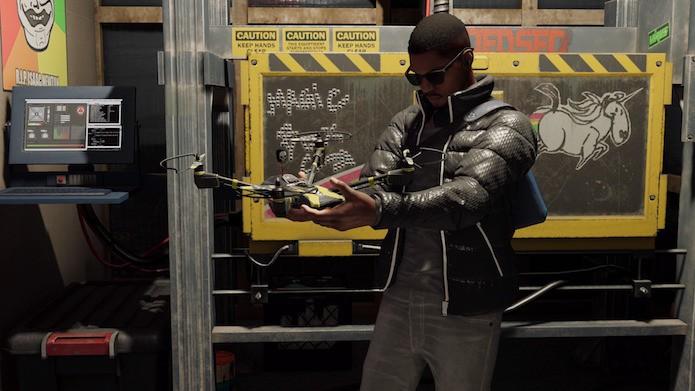 Watch Dogs 2: Marcus tem à disposição dois periféricos tecnológicos (Foto: Reprodução/Victor Teixeira)