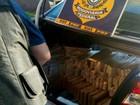 Após fuga, PRF apreende 360 kg de maconha em veículo de São Paulo