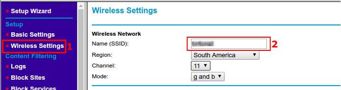 Definindo um nome para a rede wireless  (Foto: Reprodução/Edivaldo Brito)