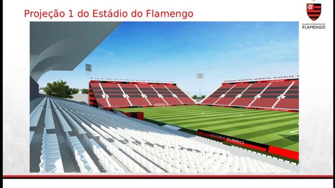 Arquibancada Ilha Flamengo (Foto: Divulgação/Flamengo)