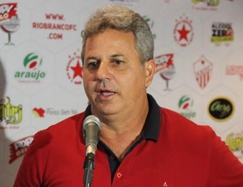 Lourival Marques Filho, o Louro, presidente do Rio Branco-AC (Foto: João Paulo Maia)