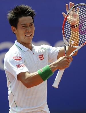 tenis kei nishikori barcelona (Foto: AFP)