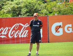 Clemer deixou dúvidas na formação do Inter (Foto: Tomás Hammes / GLOBOESPORTE.COM)