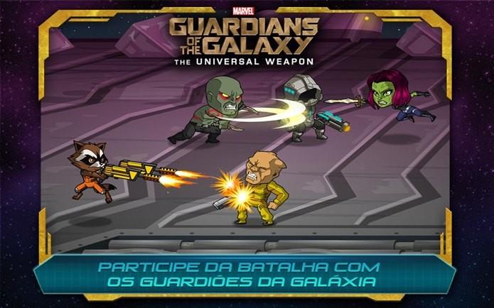 Simples e divertido, Guardiões da Galáxia é um dos melhores jogos da semana (Foto: Divulgação)