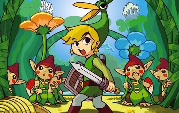 Zelda teve The Minish Cap no GBA (Foto: Divulgação/Nintendo)