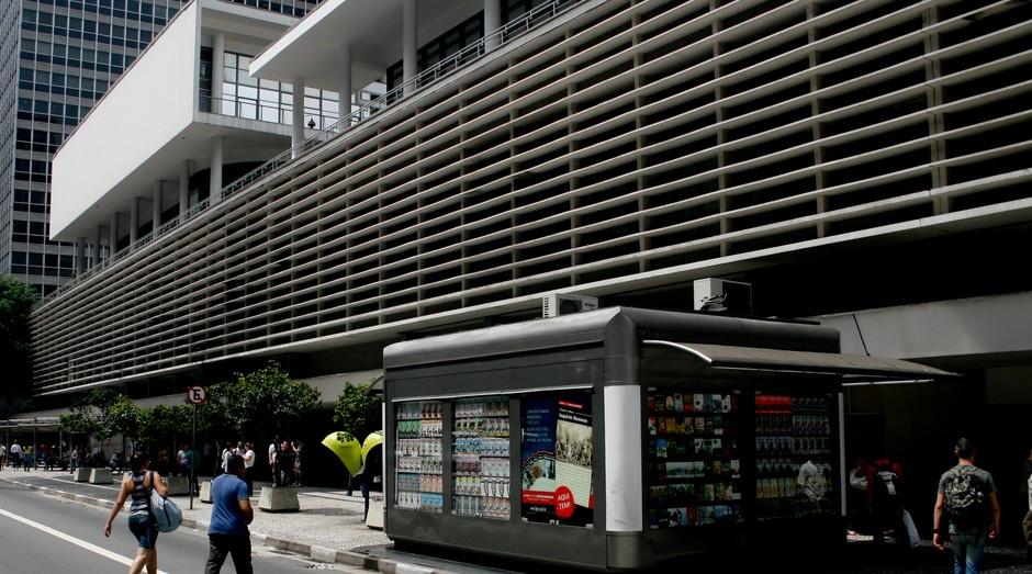 conjunto nacional; são paulo; prédio; avenida; paulista; banca de jornal; rua; (Foto: Wikimedia Commons)