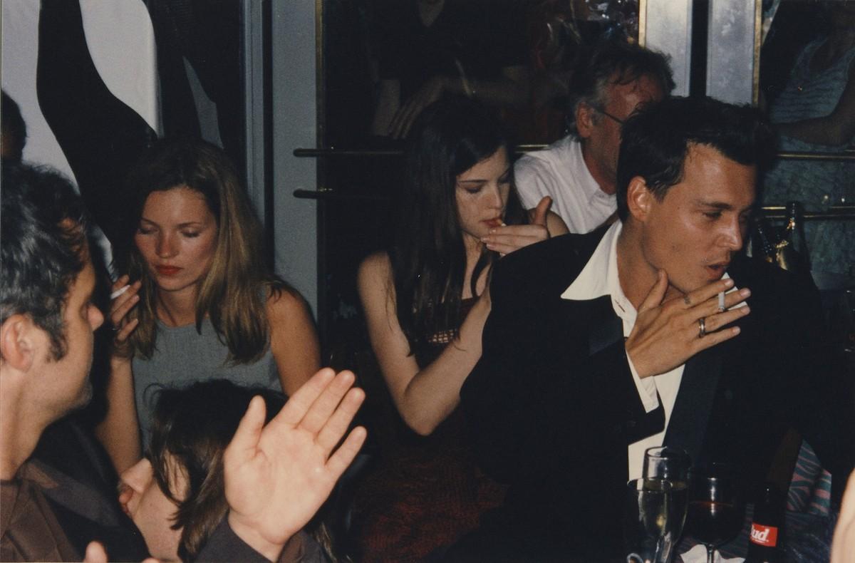 Kate Moss, Liv Tyler e Johnny Depp. (Foto: Divulgação)