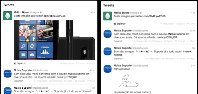 Aprenda a desativar a pré-visualização de fotos do Twitter no celular (Foto: Reprodução/Helito Bijora)