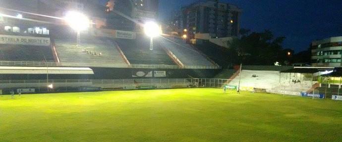 Estádio Sumaré, em Cachoeiro de Itapemirim (Foto: Wildson Lesqueves/Atlético-ES)