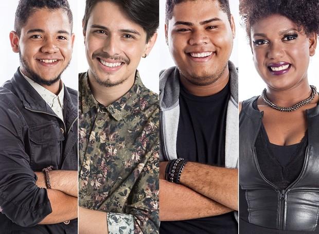 Finalistas da 5ª edição do The voice Brasil (Foto: Gshow)