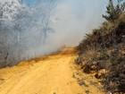 Incêndio atinge vegetação de pista de voo livre em Fundão, no ES
