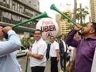 Câmara pode votar projeto que libera Uber (Rovena Rosa/Agência Brasil)