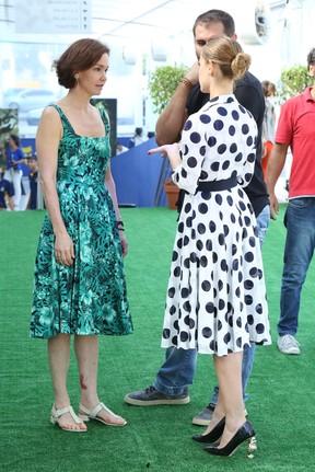 Julia Lemmertz e Alinne Moraes (Foto: ROBERTO FILHO / BRAZIL NEWS)